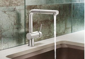 Blanco Linus Pullout - Satin Nickel