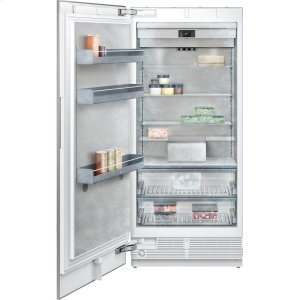 "Gaggenau400 series Vario freezer 400 series Niche width 36"" (91.4 cm) Fully integrated, panel ready"
