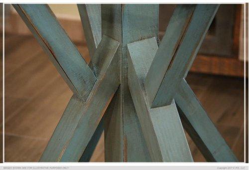 Wooden Base - Blue finish - KD System