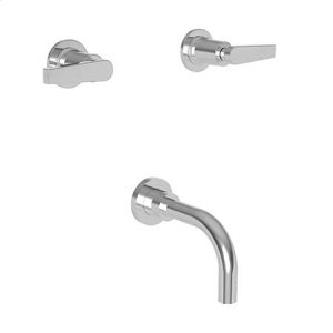 Oil Rubbed Bronze Wall Mount Tub Faucet