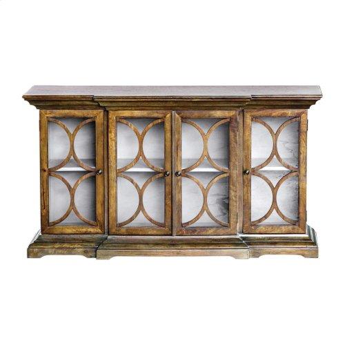 Belino 4 Door Cabinet, Mist