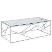 Juniper Coffee Table in Silver