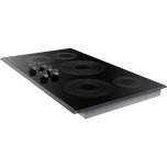 """36"""" Smart Electric Cooktop In Black Stainless Steel"""