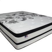 "Queen-Size Brylee 14"" Euro Pillow Top Mattress (non-flip) Product Image"