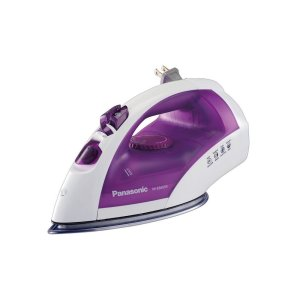 PANASONICSteam Circulating Iron with Curved Non-Stick Stainless-Steel Soleplate NI-E660SR