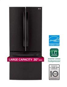 """22 cu. ft. Large Capacity 30"""" Wide 3-Door French Door Refrigerator"""