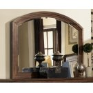 Laughton Rustic Dresser Mirror With Rounded Edge Product Image