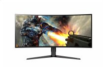 "34"" Class 21:9 UltraGear QHD IPS Curved LED Gaming Monitor w/ G-SYNC (34"" Diagonal)"
