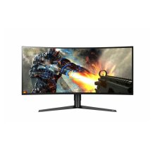 LG 34GK950G-W 34 inch 21:9 UltraGear QHD Curved Nano IPS Gaming Monitor with NVIDIA G-SYNC
