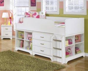 Bedroom Sets Everett Wa b102b28 lulu - white 6 piece bedroom setashley furniture