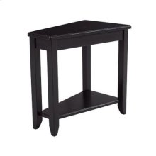Chairsides Wedge Chairside Table - Black