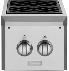 Monogram® Dual Burner Outdoor Cooktop (Natural Gas)