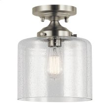 Winslow Collection Winslow 1 Light Semi Flush NI
