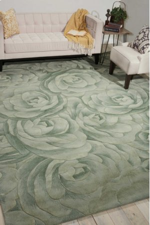 Moda Mod06 Seafoam Rectangle Rug 5'6'' X 7'5''