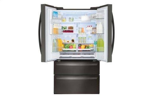 LG Black Stainless Steel Series 28 cu.ft. Capacity 4-Door French Door Refrigerator