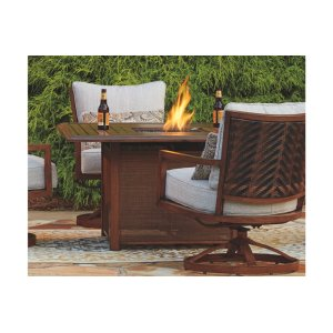 Ashley Furniture Square Fire Pit Table