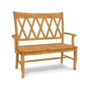 XX Back Bench w/ arms Product Image