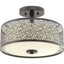 "Mingle LED Collection 14"" Semi-Flush Mount"