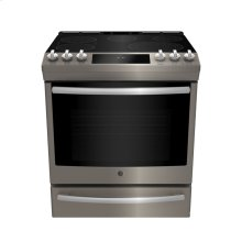 Slide In Front Control Electric 6.3 cu ft Self- Cleaning Range