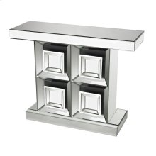 MIRRORED CONSOLE TABLE