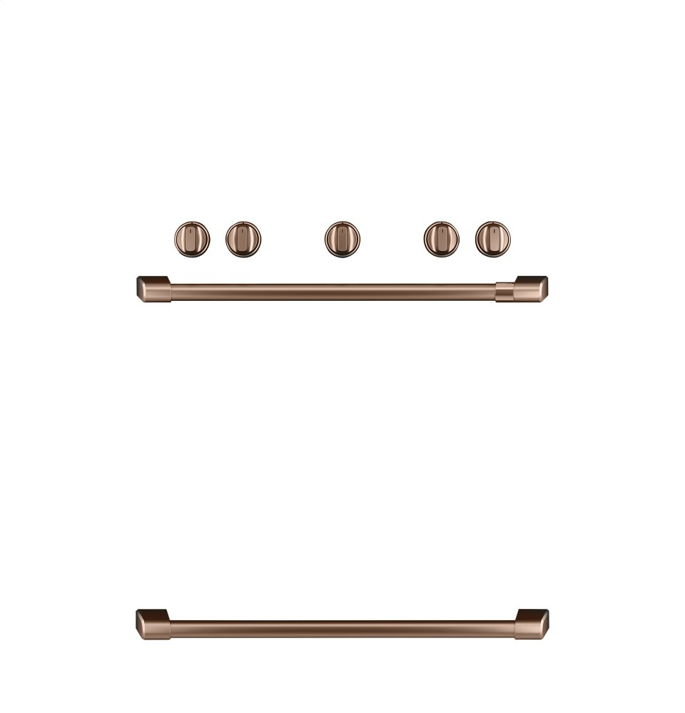 Caf(eback) Freestanding Gas Knobs and Handles - Brushed Copper