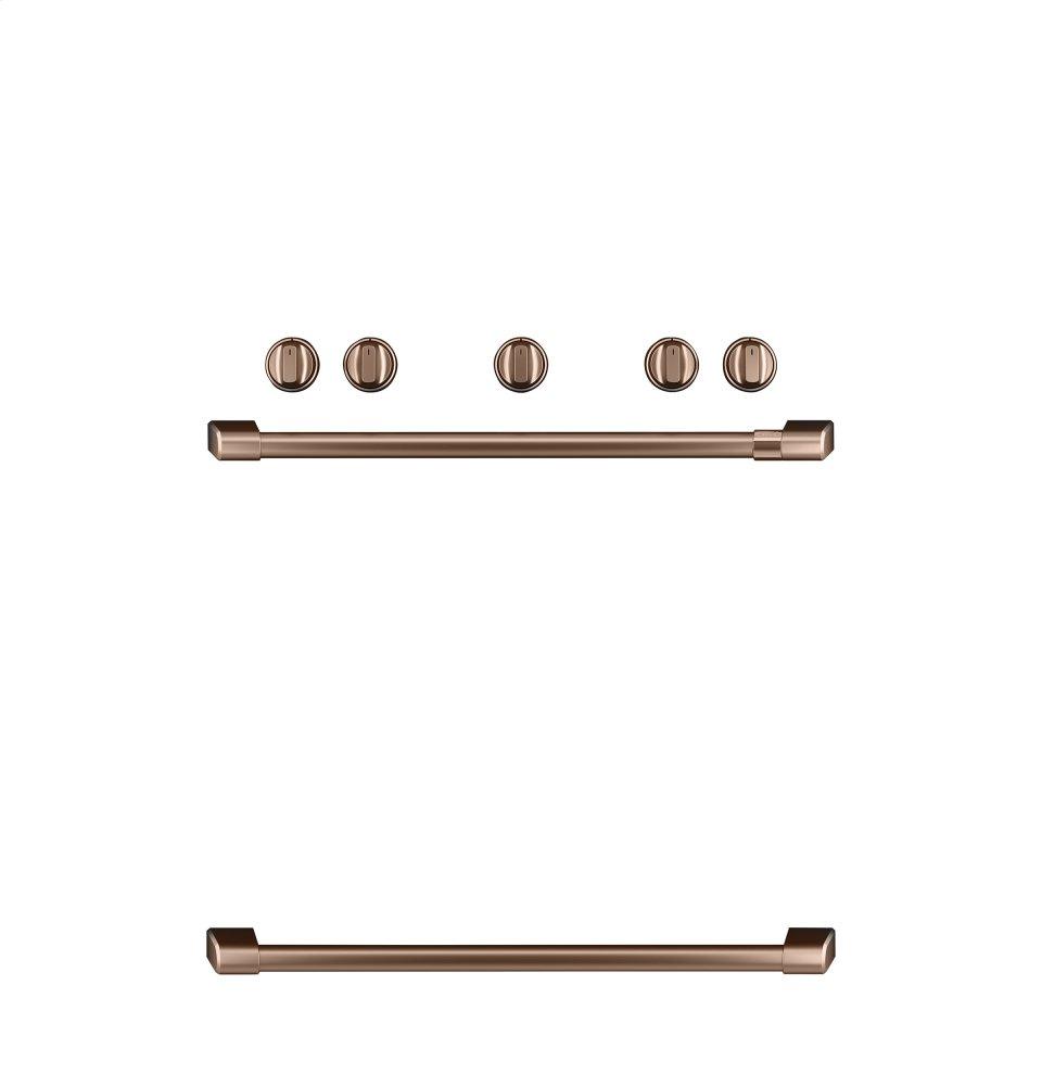 Caf(eback) Freestanding Gas Knobs and Handles - Brushed Copper  BRUSHED COPPER