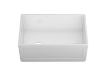 "Fira 083019 - undermount with apron front fireclay Kitchen sink , 28 1/4"" × 17 1/2"" × 10"""