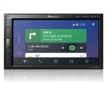 "Modular 6.8'' Multimedia Receiver with Apple CarPlay "", Android Auto "", Built-in Bluetooth ® , and SiriusXM-Ready """