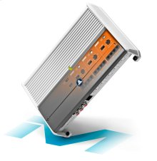 6 Ch. Class D Full-Range Marine Amplifier, 600 W, for 24V Systems