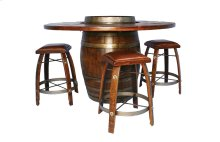 BARREL BISTRO TABLE
