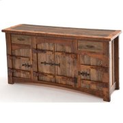 Heritage Laramie 2 Drawer 4 Door Server With Curved Doors Product Image