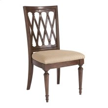 Dark Brown Cherry Meadowbrook Manor Side Chair
