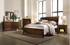 Walnut Park King Sleigh Bed