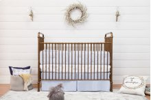 Vintage Gold Abigail 3-in-1 Convertible Crib