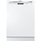 24' Recessed Handle Dishwasher 800 Series- White Product Image
