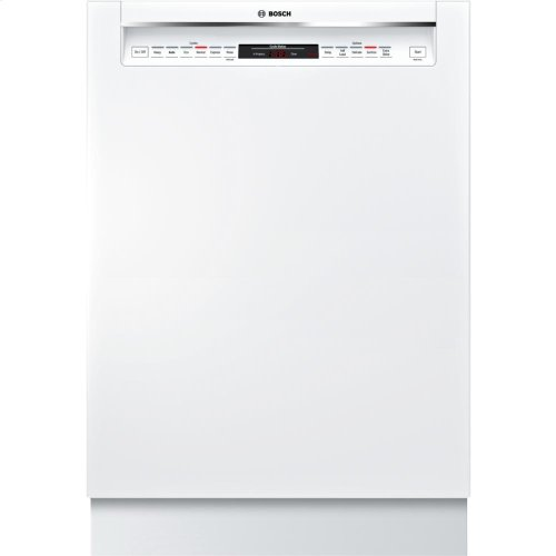 """24"""" Recessed Handle Dishwasher 800 Series- White (Scratch & Dent)"""