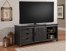 76 In. Console With Sliding Door