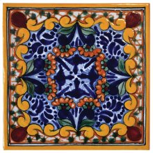 "4"" Golondrina Talavera Tiles"