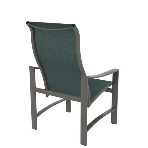 Kenzo Sling High Back Dining Chair