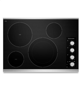 30-Inch 4 Element Electric Cooktop, Architect® Series II - Stainless Steel