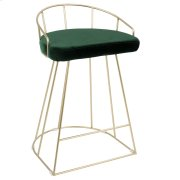 Canary Counter Stool - Gold / Green Product Image