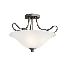 Stafford Collection Semi Flush/Inv Pendant 2Lt OZ