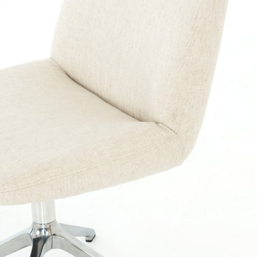 Savile Flax Cover Amber Desk Chair