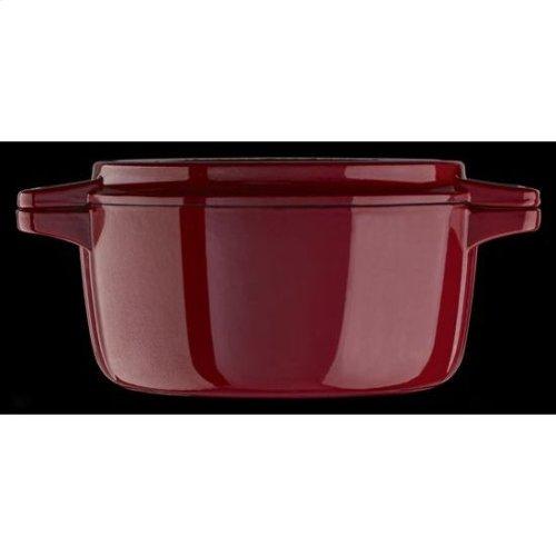KitchenAid® Professional Cast Iron 4-Quart Casserole - Empire Red