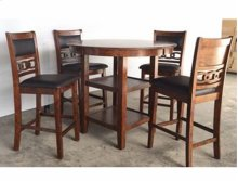 5 Pc Counter Height Set