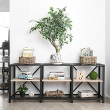 Segovia 2-tier Long Shelf