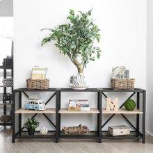 Segovia 2-tier Long Shelf