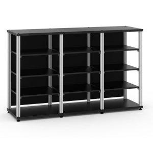 Salamander DesignsSynergy 40 Triple-Width Core Module,Black with Aluminum Posts