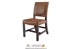 Chair with bonded Leather**