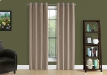 """CURTAIN PANEL - 2PCS / 52""""W X 95""""H BROWN SOLID BLACKOUT"""